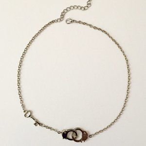 [3 FOR $23] Key and Handcuff Necklace